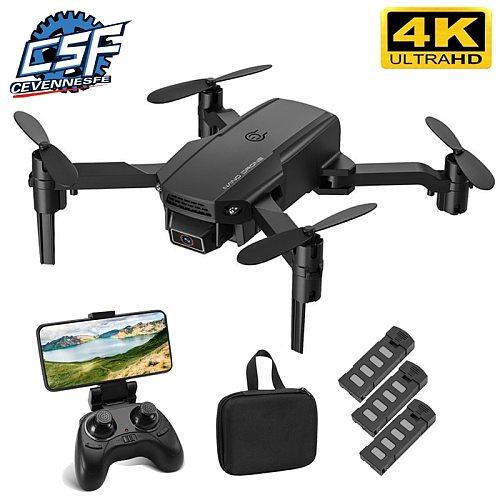 2021NEW KF611 Drone 4k profesional 1080P WiFi FPV Drone Remote Tray Dual Robot Camera Wifi Quadcopter Dron Kids Toys Flynova Pro
