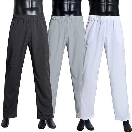 Muslim Fashion Arab Trousers for Men Adult Solid Islamic Clothing Arabic Pant Dubai 2020 Saudi Arabia Middle East Trouser