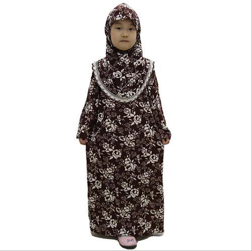 Turkish Egyptian Dubai Girls Abaya Muslim Dress for Kids Turkish Dresses Hijab Kaftan Prayer Clothes Caftan Marocain Pakistan