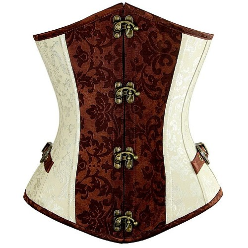 Steampunk Vintage Corset Gothic Clothing Corsets Women Bustiers Tops Lace up Stud buckle Retro Sexy korset Corsage