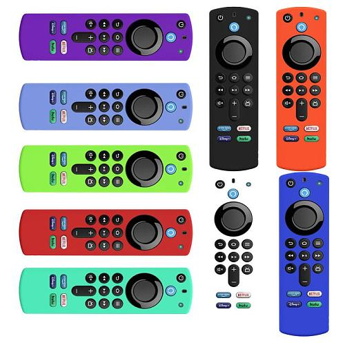 TV Remote Control Cover Protective Case For Fire TV Stick 4K 2nd Gen And 3rd Controller Compatible With Alexa Voice Remote