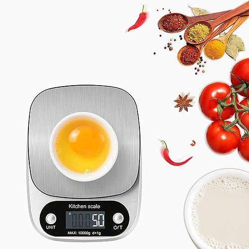 Portable Kitchen Scale Bakery Electronic Scale Household Small Electronic Scale 0.1G Food Gram Scale Small Scale Kitchen Tools