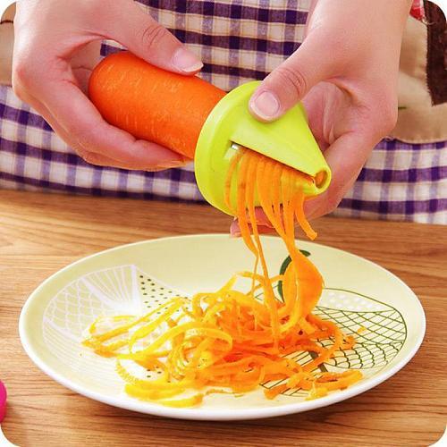 Kitchen Tool Vegetable Fruit Multifunction Spiral Shredder Peeler Manual Potato Carrot Radish Rotating Grater Kitchen Accessorie