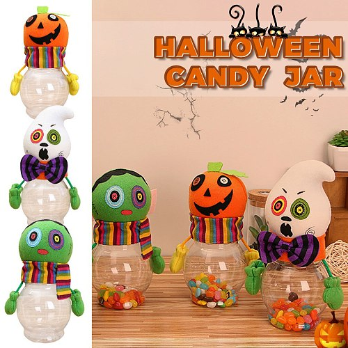 Halloween Candy Bags Cute Gift Bag Trick or Treat Kids Gift Pumpkin Bat Jelly Candy Boxes Halloween Party Decoration Supplies