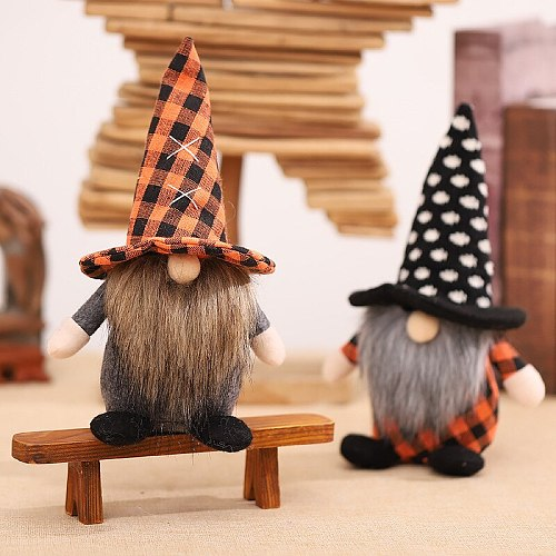 Halloween Faceless Gnome Doll Ornaments Home Table Decoration For Home Pendant Gifts Happy Holiday DIY Decorations New Year