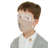2020 NEW Cotton Mask with Eyes Shield For Kids