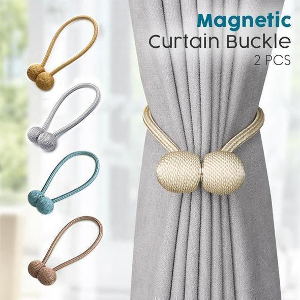 🔥 ON SALE 🔥Magnetic Curtain Buckle (2PCS)