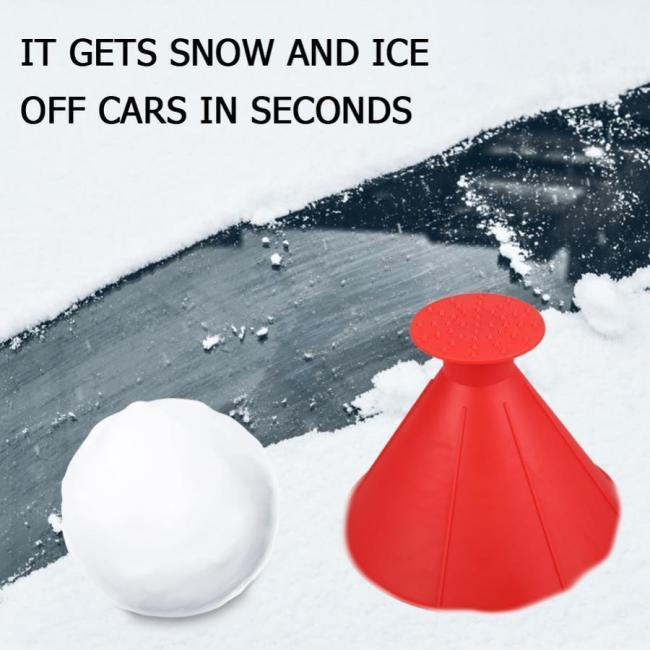 (Buy 1 Get 1 Free Now!)Multifunctional Automotive Glass Snow Remover Magical Car Ice Scraper