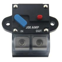 [U.S free shipping] Popsail 200A Heavy Duty Recoverable Circuit Breaker with Manual Reset