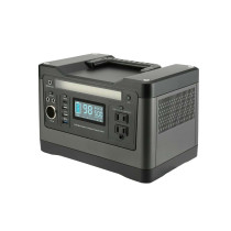 550Wh portable outdoor solar generator with 500W inverter
