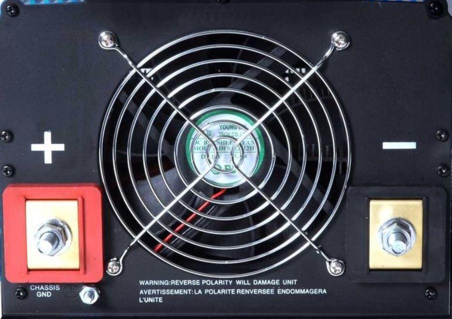 power inverter cooling fan