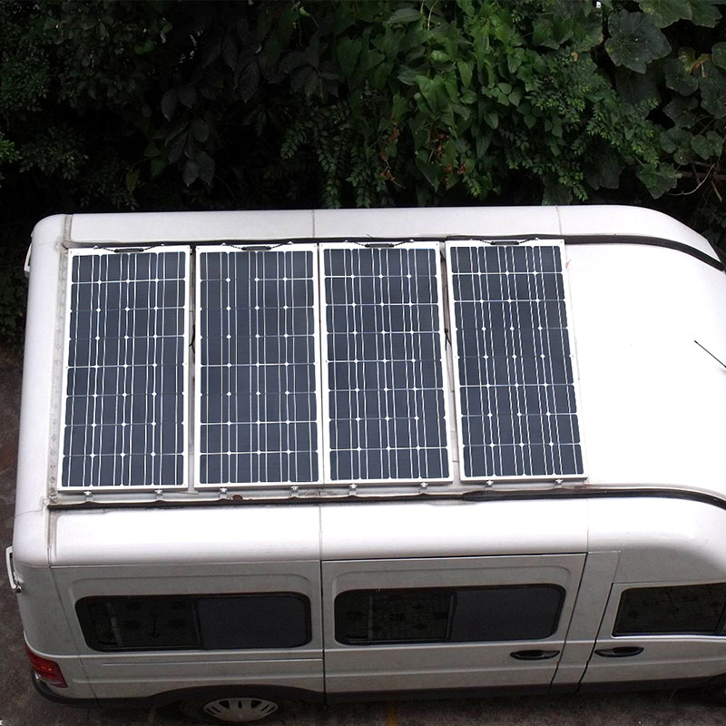How much solar power for my campervan?