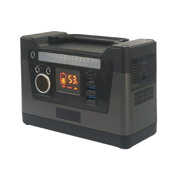 135Wh portable outdoor solar generator with 120W inverter