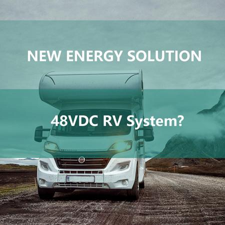 48V RV power system on its road
