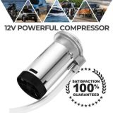 150 DB 12V LOUD TRAIN HORN WITH AIR COMPRESSOR FOR TRUCKS, CARS, SUVS, BOATS, MOTORCYCLES
