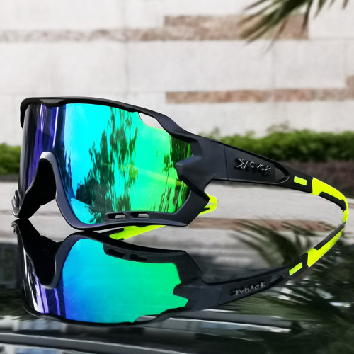 2020 New 5 Lens Cycling Eyewear Sport Running Riding Fishing Glasses Motorcycle Bicycle Goggle MTB Road Bike Sunglasses
