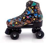 Quad Roller Skate- Graffiti