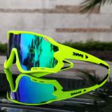 2020 New 5 Lens Cycling Eyewear Sport Running Riding Fishing Glasses Motorcycle Bicycle Goggle MTB Road Bike Sunglasses