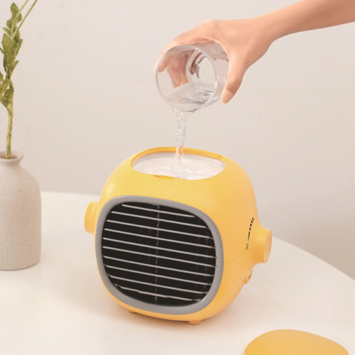 Portable Cooling Air Conditioning Rechargeable Electric Fan