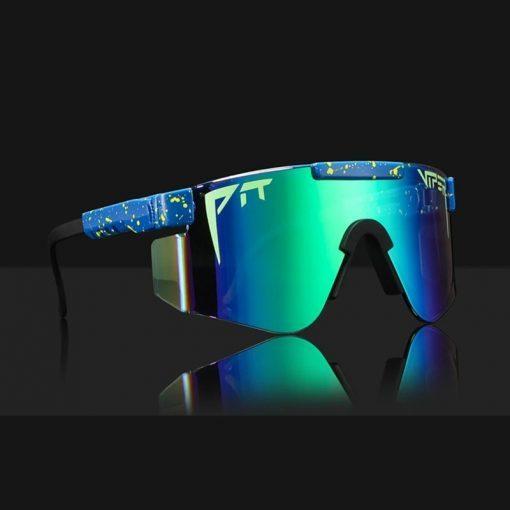 2020 Original pit viper sunglasses Sport Glasses For Sport Colored Outdoor Pit Viper Windproof eyewear viper sunglasses UV400