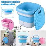 Mini Foldable Washing Machine Portable Ultrasonic Ozone Cleaning Machine