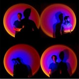 Ambient Light Rainbow Projection Lamp
