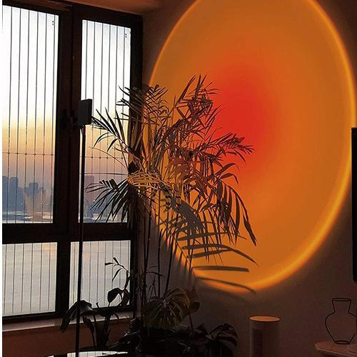 LED Projector Atmosphere Light USB Background Party Decor Sunset