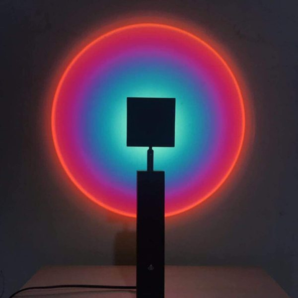 Rainbow Light Sunset Atmosphere Lamp Projection Projector Lamp
