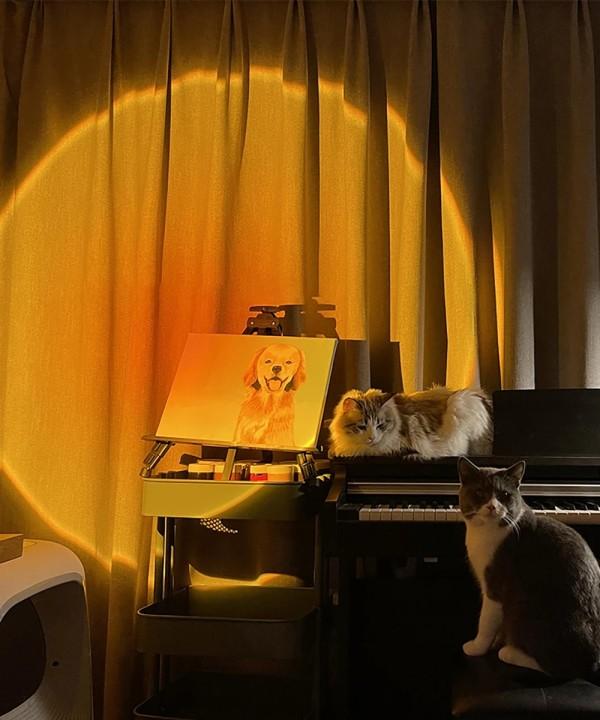 The Eternal Sunset Lamp