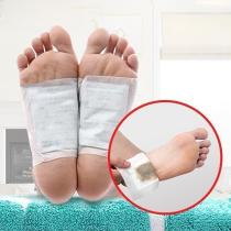 Ginger Detox Foot Patch Natural Body Detox Foot Pads Cleansing Improve Sleeping 10PCS/Box