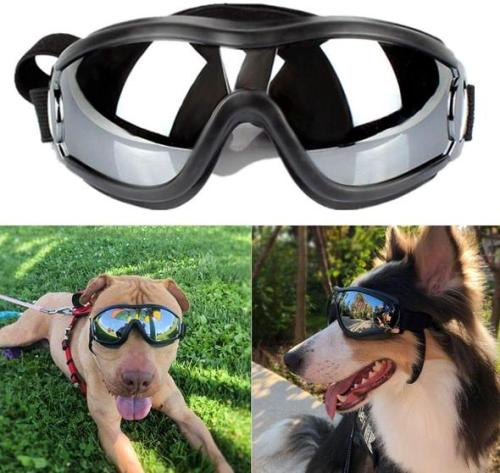 Dog Sunglasses Dog Goggles UV Protection Windproof Dustproof Fogproof Pet Glasses For Medium Or Large Dog