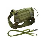 Military No-Pull Tactical Dog Harness Vest