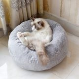 Cat Bed,Calming Dog Bed,Marshmallow Cat Bed,Orthopedic Anti-Anxiety Cat Bed