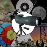 50/60/70Mm Spotting Scope Telescope Zoom Waterproof w/ Phone Mount