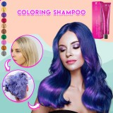 2PCS Hair Coloring Shampoo Mild Safe Hair Dyeing Shampoo