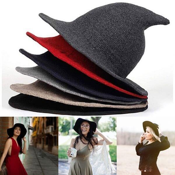 Women Halloween Witch Hat