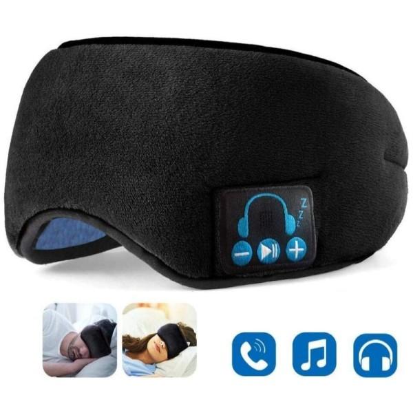 Hypnos Sleep Headphones 2 in 1 Relaxing Wireless Music Eye Covering