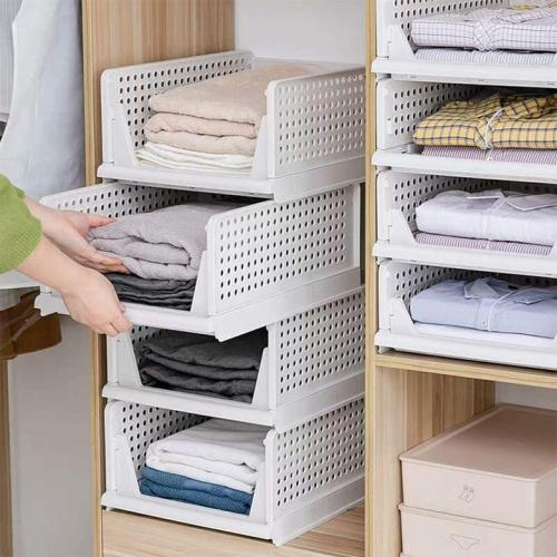 Wardrobe oversized storage basket