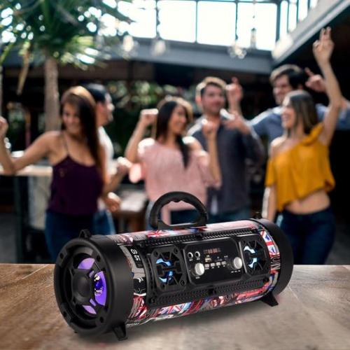 16W WIRELESS BLUETOOTH SPEAKER SUB-WOOFER 3D SOUND SYSTEM