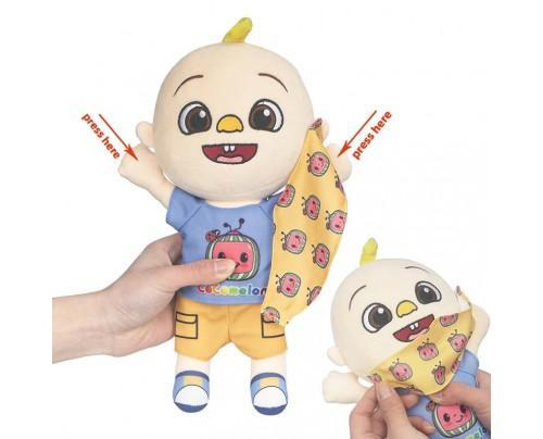 Cocomelon Musical JJ Doll Soft Plush Toys