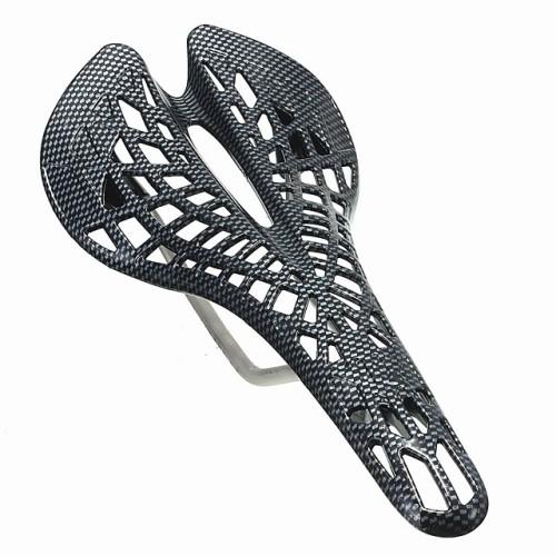 Bike Seat Comfort Hollow Design Zinc Alloy Plastic