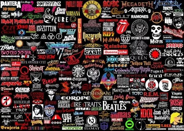 Greatest Rock Albums of All Time 1000 Piece Jigsaw Puzzle