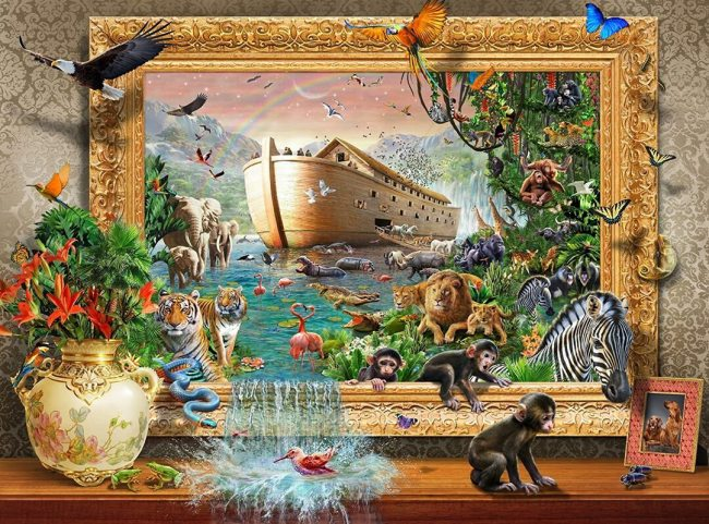 1000 Piece Coming to Life Jigsaw Puzzle