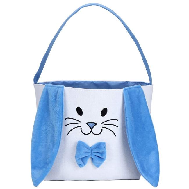 Personalized Easter Gift Bags with Fluffy Ears