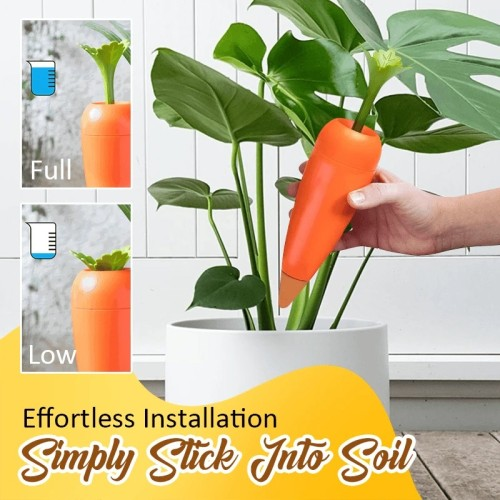 Creative Automatic Plant Watering Carrots