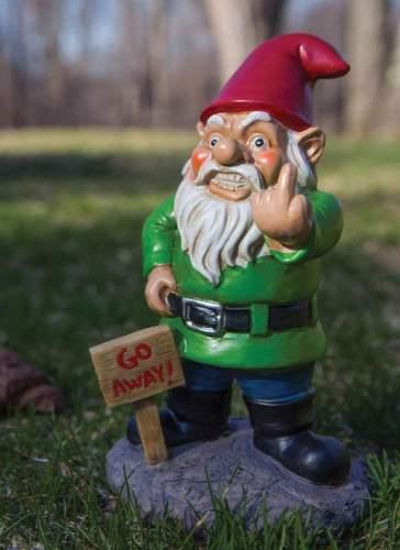 BigMouth Go Away Gnome!