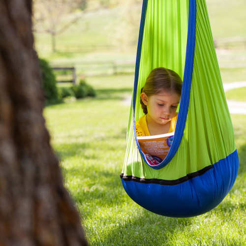 Kids Pod Swing Seat with Swing Swivel