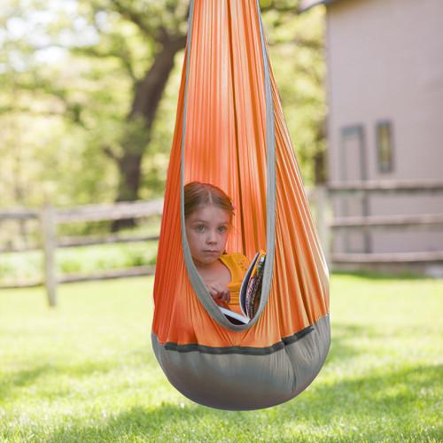 Kids Pod Swing Seat with Swing Swivel