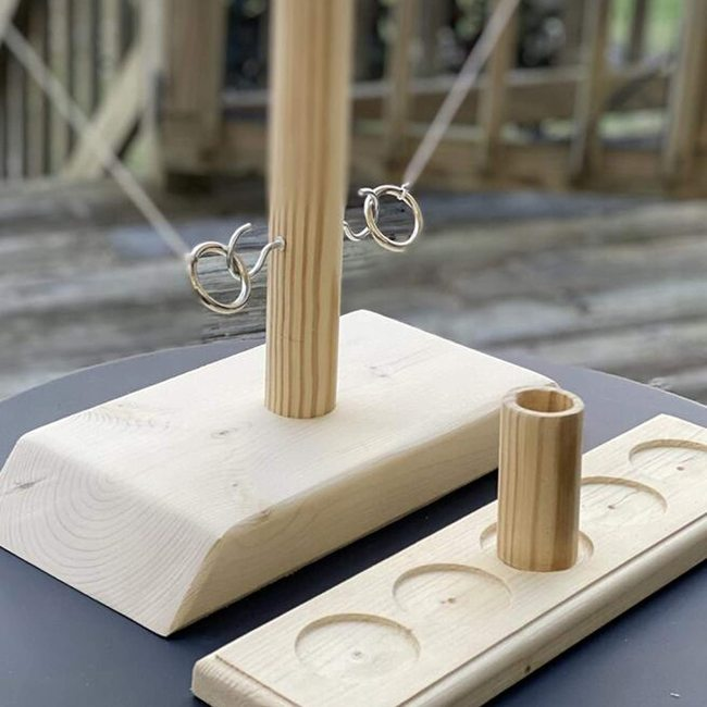 TIK Tok This Hook and Ring Toss Battle Game