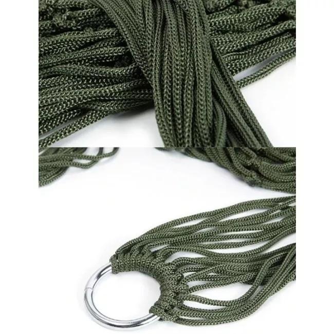 Net Hammock in Army Green